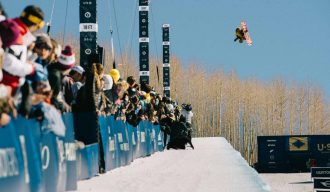 Taku Hiraoka competes at the Burton US Open, in Vail,Colorado, USA on March 7, 2015