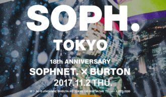 SOPHNET.×BURTON