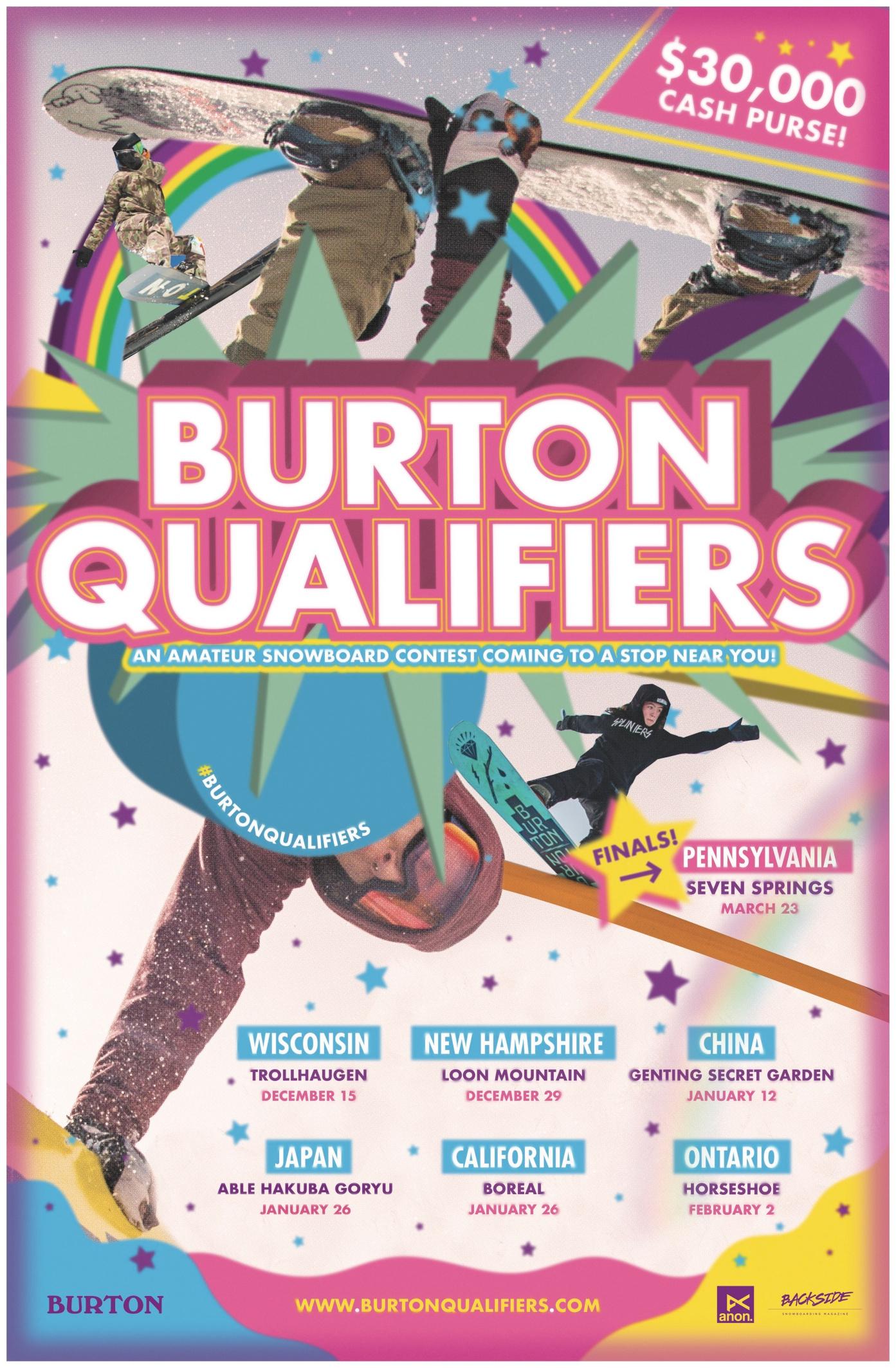 20182019The Burton Qualifiers