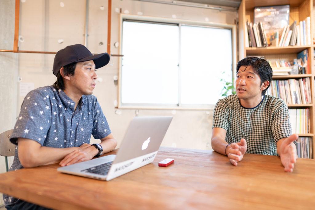 Daisuke Nogami and Tomokazu Matsuyama