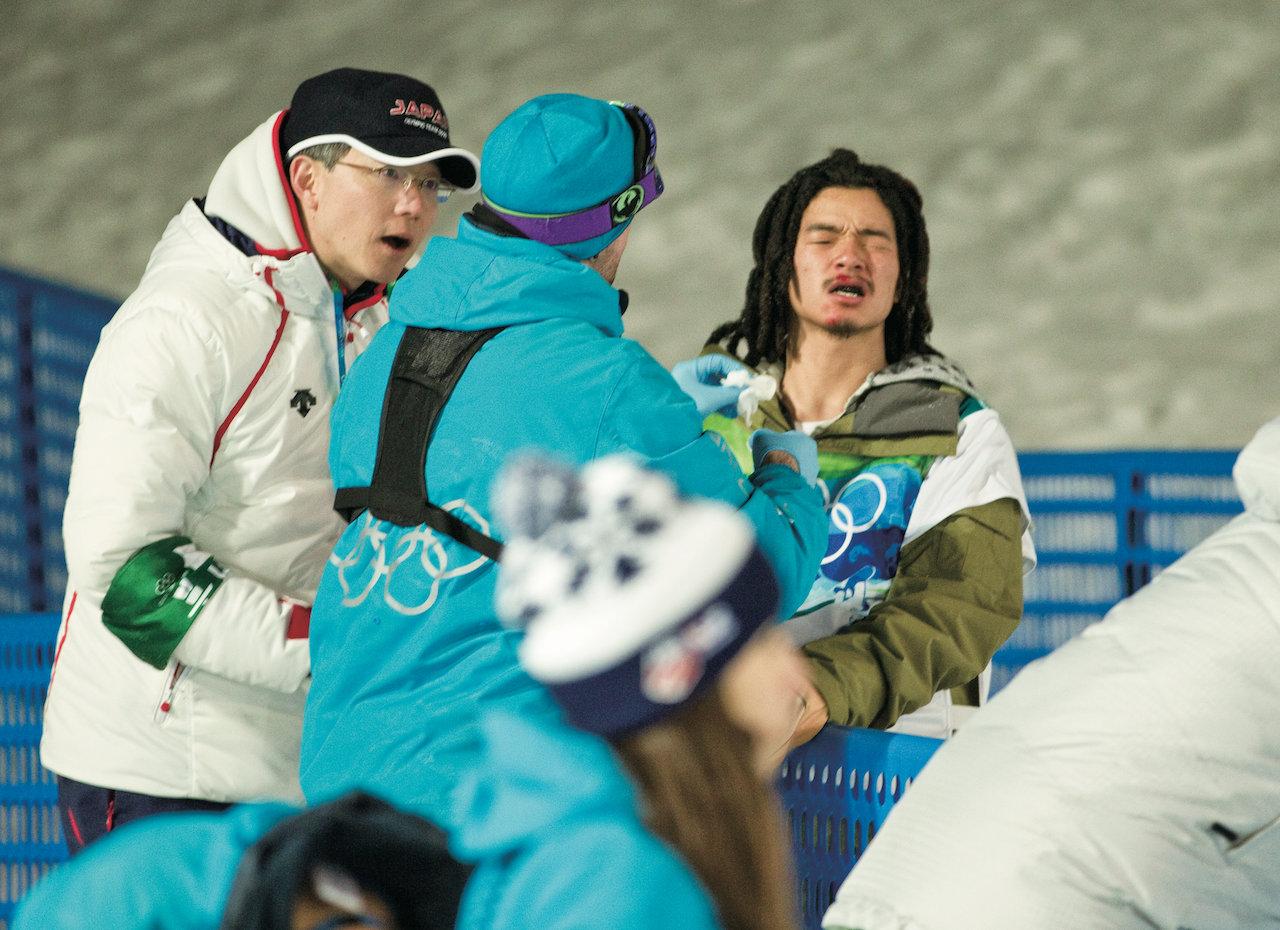 Olympics Vancouver 2010. Halfpipe Mens.