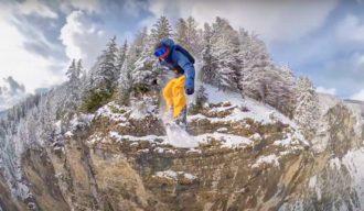 SnowboardBaseJump