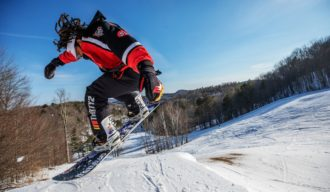 Zeb Powell rides at Suicide Six, Vermont, USA on 10 March, 2021. // Brian Nevins/Red Bull Content Pool // SI202103110015 // Usage for editorial use only //
